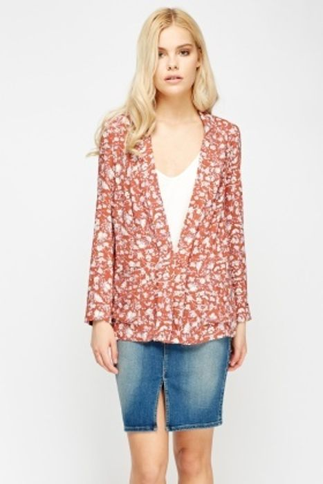 Floral Light Weight Cardigan HALF PRICE