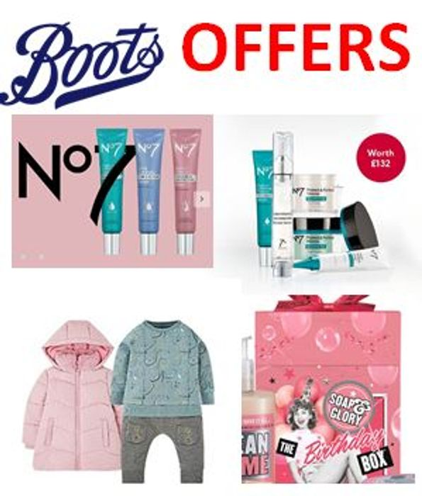 CHEAP! BOOTS Offers