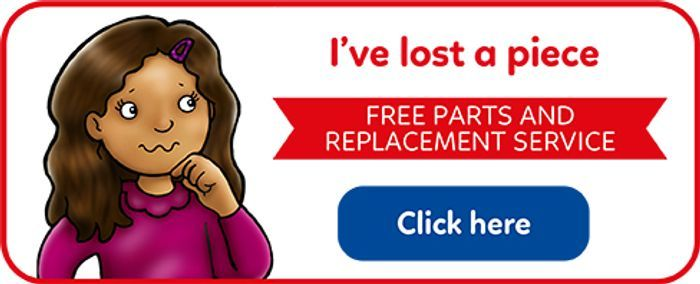 Free Parts and Replacement Service from Orchard Toys