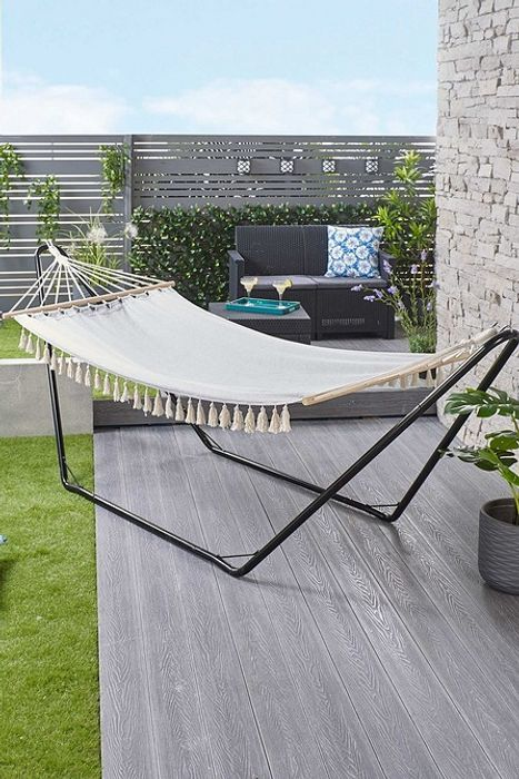 Garden Hammock with Stand - Only £49.99!