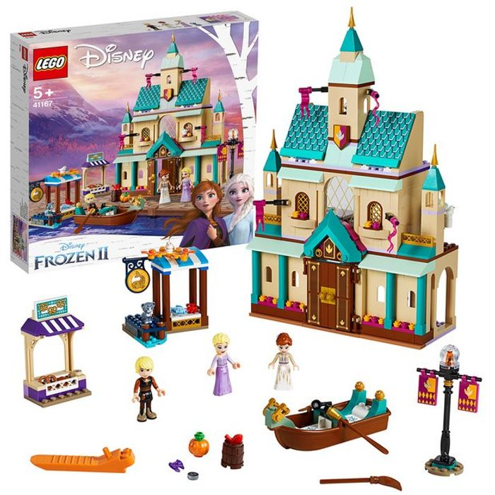 Cheap LEGO Disney Frozen II Arendelle Castle Village Toy - 41167 - Only £60!