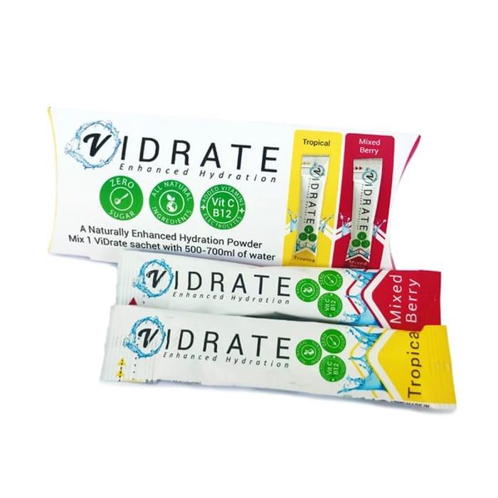 Free ViDrate Electrolyte Hydration Sachets
