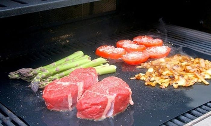 Up to 12 BBQ Grill Mats