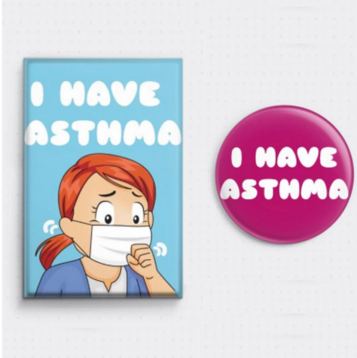 Free Badge for Asthma Sufferers