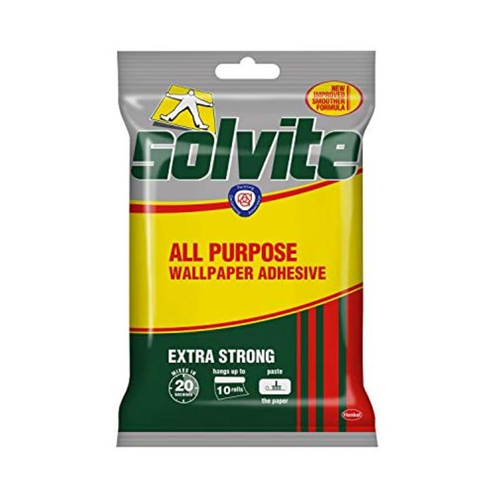 Solvite All-Purpose Wallpaper Adhesive,