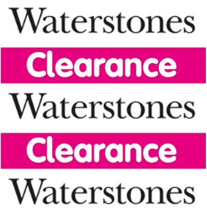 Special Offer - Waterstones - BOOK CLEARANCE SALE - from 25p!