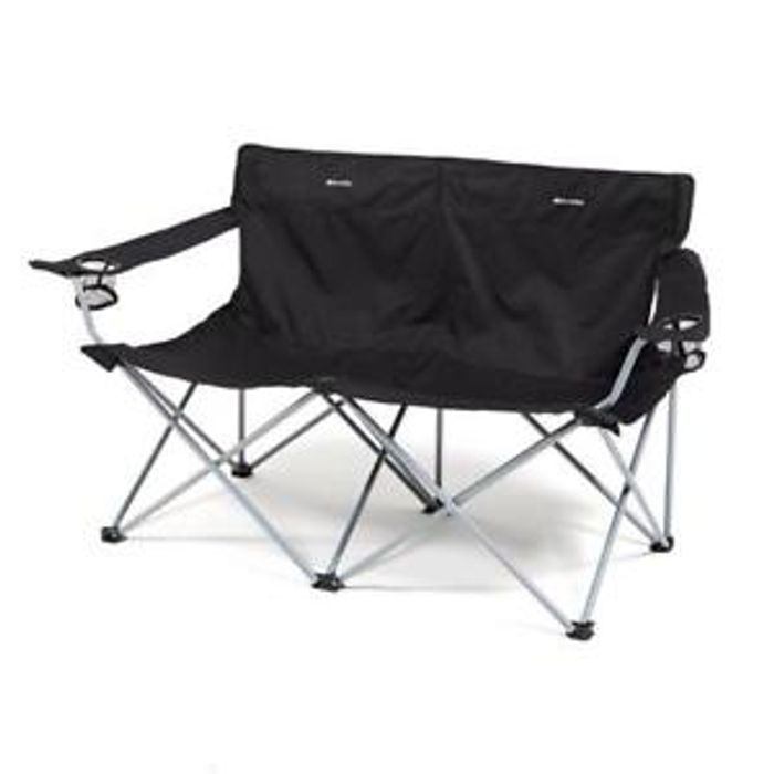 Eurohike Twin 2 Seat Camping or Garden Folding Chair - £15.91 Delivered