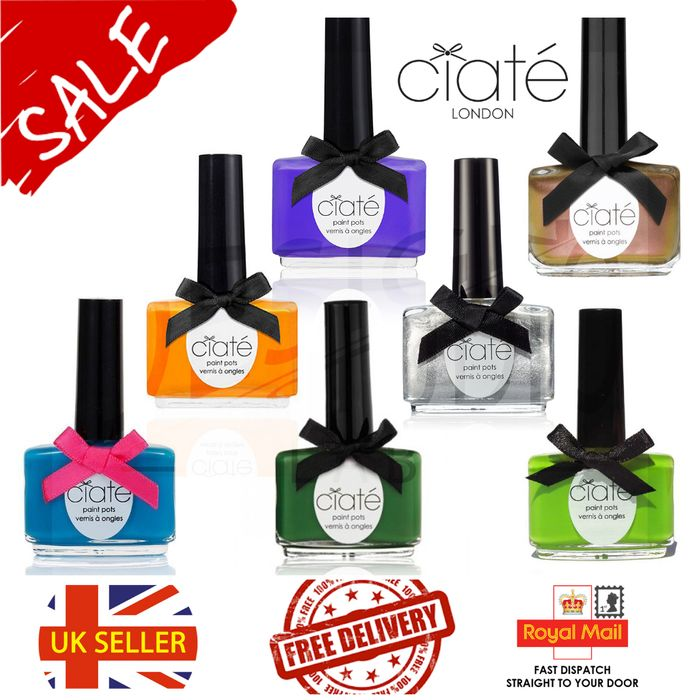 Four-, Six- or Eight-Pack of Ciate Nail Polish Paint Pot