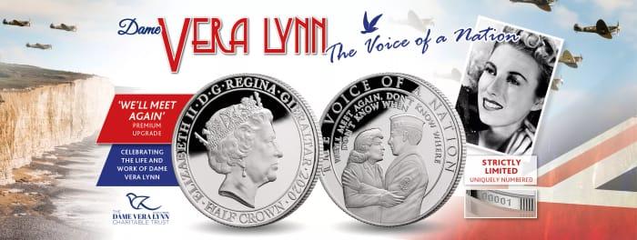 Free Dame Vera Lynn Commemorative Coin