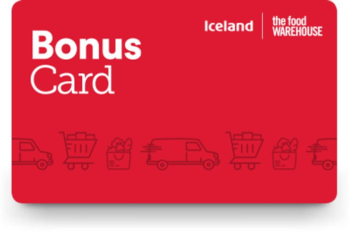 Iceland Bonus Card is Back - every £20 yous save give you £1 free