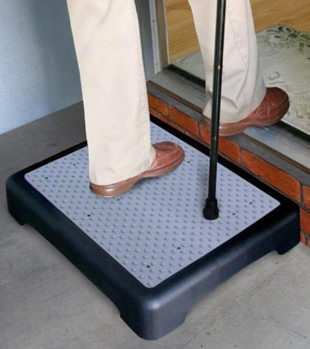 Anti Slip Outdoor Half Step Elderly Disability Door Walking Aid 10cm
