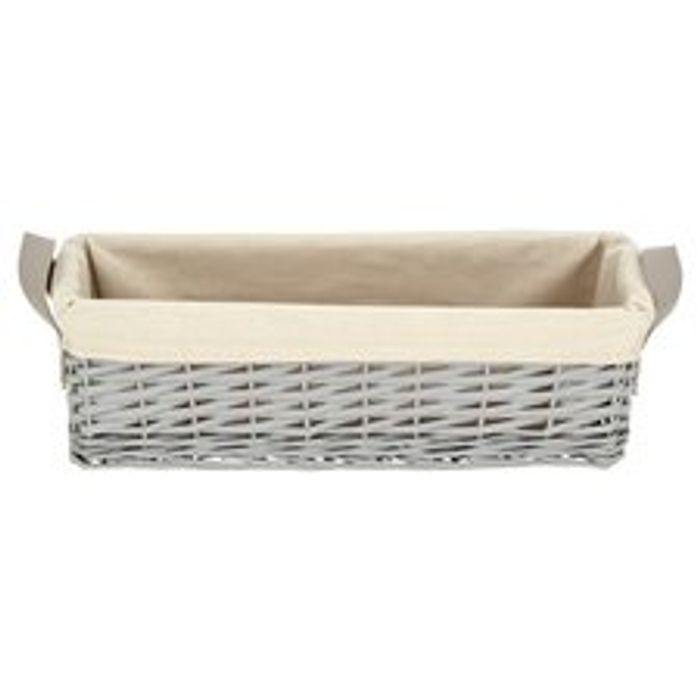 Tesco Grey Wire Stackable Basket HALF PRICE