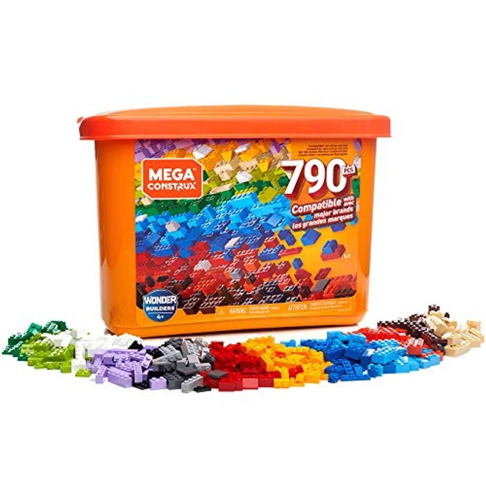 Mega Construx GJD24 Wonder Builders 790 Piece Tub
