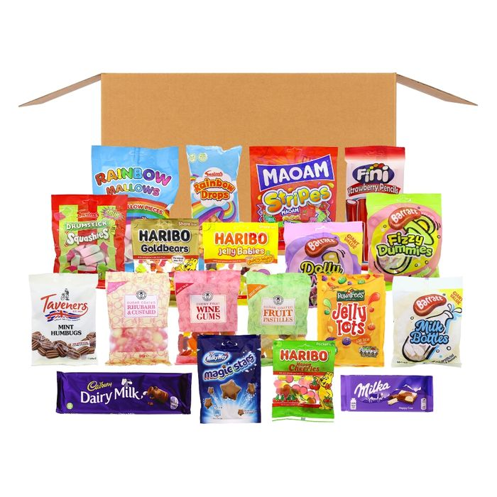 Treats Box: Sweet, Treats & Chocolate (Delivery Included)