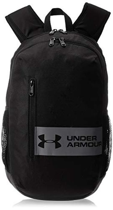 Under Armour UA Roland Laptop Backpack, Stylish Waterproof Bag, Black, OSFA