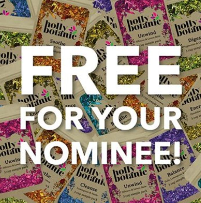 Nominate Your Local Heroes And We Will Send Them FREE Holly Botanic Tisanes!