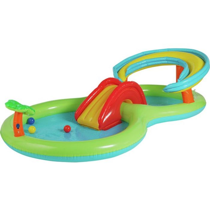 Chad Valley 8.5ft Activity Play Centre Paddling Pool - 109L