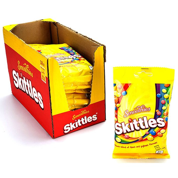 18x Skittles Smoothies 95g Packs