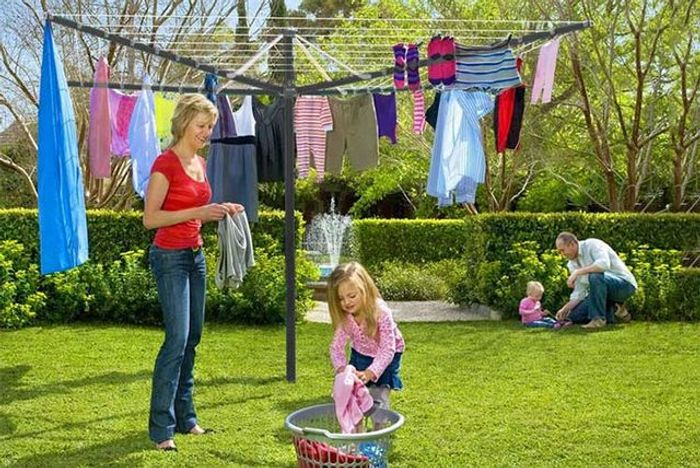*SAVE over £30* 50m Rotary Clothes Airer