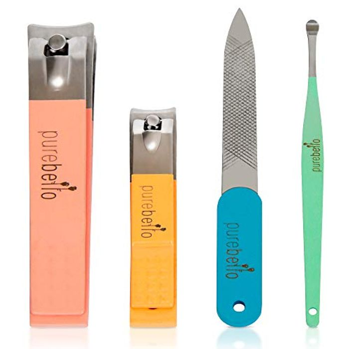4 Piece Nail Clippers Set