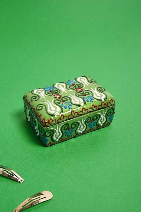 Hand-Painted Jewellery Box