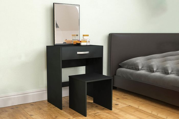 Vida Designs Isla Dressing Table, Mirror & Stool 4 Colours!