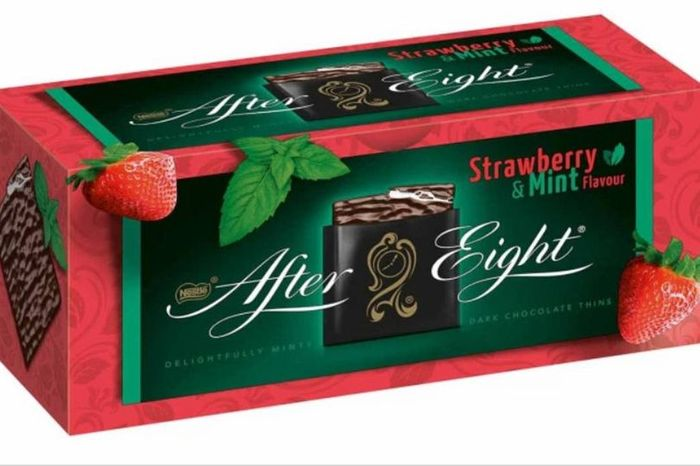 Strawberry and Mint Flavour after Eight Only £1.99