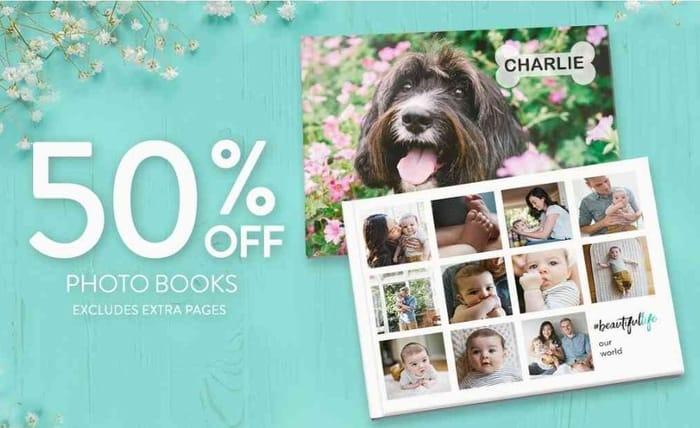 50%offPhotoBooks!
