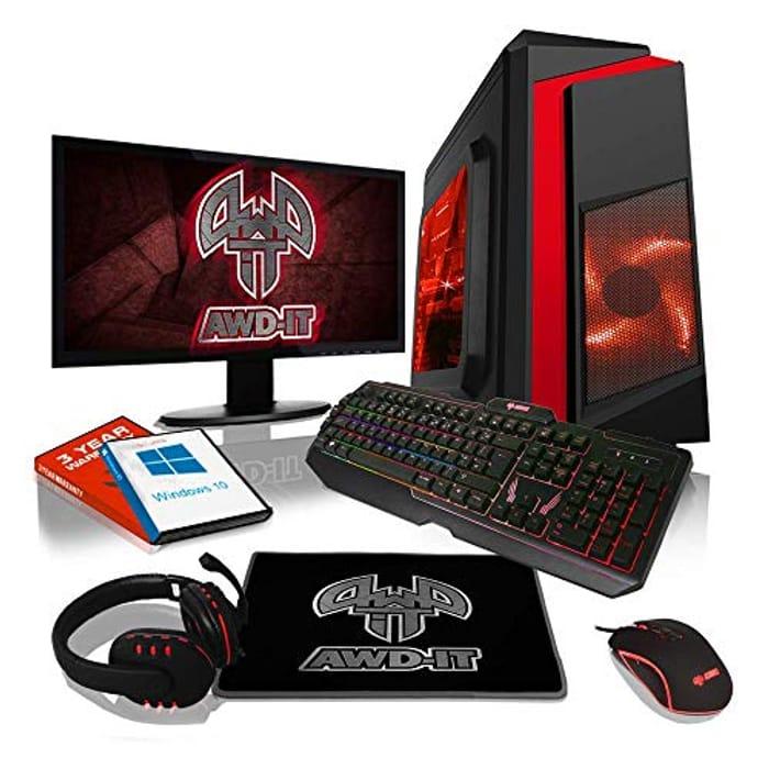 ADMI Gaming PC Package: AMD Ryzen 3200G / VEGA 8 Graphics