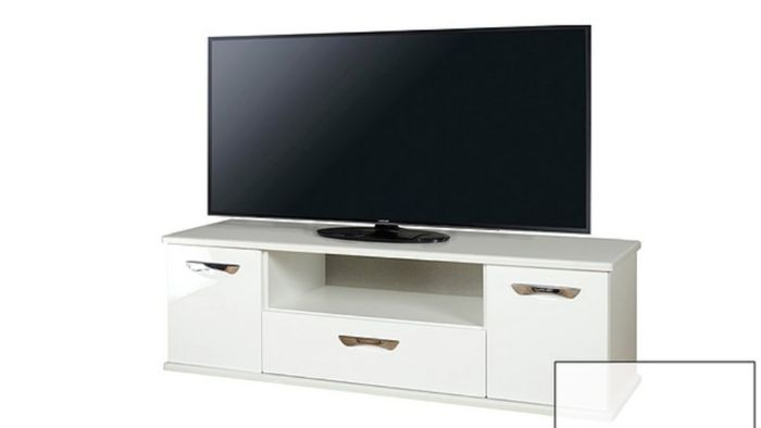 "High Gloss TV Stand (Up to 65"" TV) at Very"