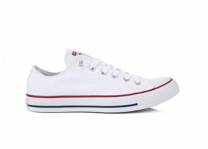 Converse All-Star Lo Original Basketball Shoe in White HALF PRICE