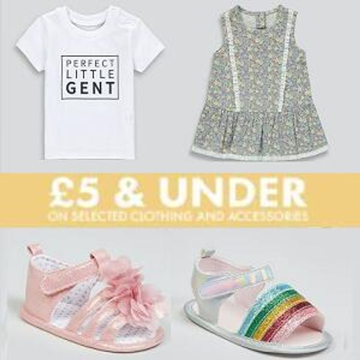 £5 & under Baby Event at Matalan - From £2!