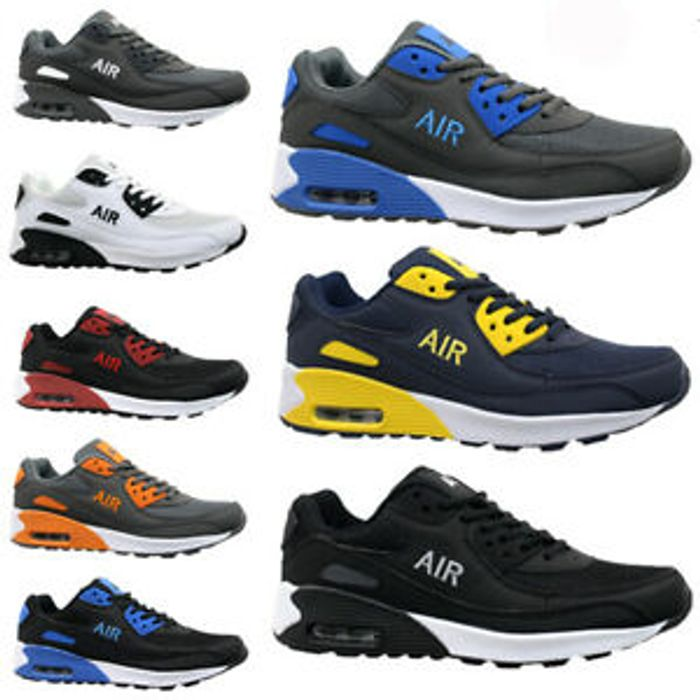 Cheap Mens Shock Absorbing Running Trainers - Only £13.95!
