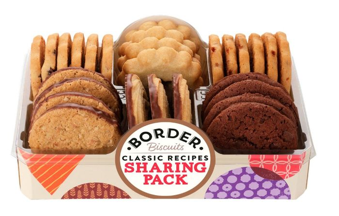 Border Classic Sharing Pack 400g