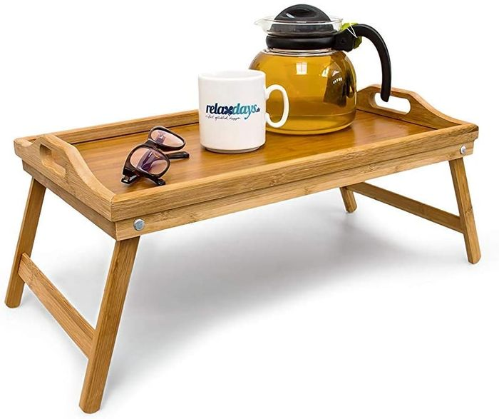 Bamboo Wooden Breakfast in Bed Tray