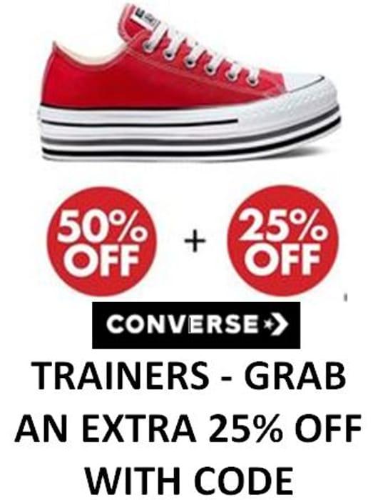 CONVERSE SALE. CHEAP Converse Trainers!