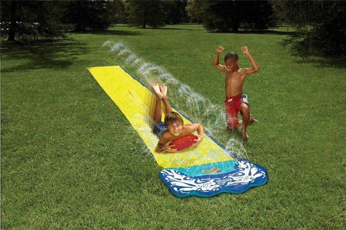 16ft Kids Garden Water Slide with Boogie Board - £14.99 Delivered