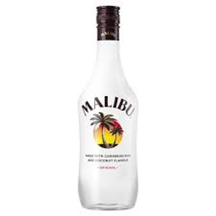 Malibu White Rum with Passionfruit