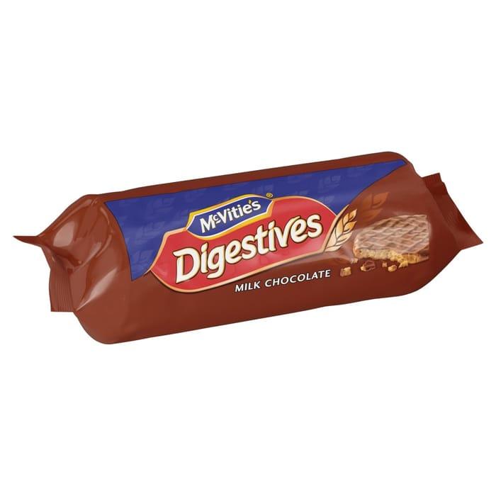 Mcvities Milk Chocolate Digestives 266g