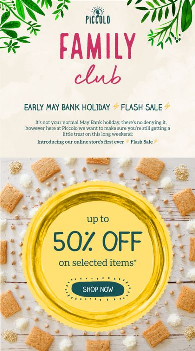 Piccolo FLASH SALE | up to 50% off on Selected Items
