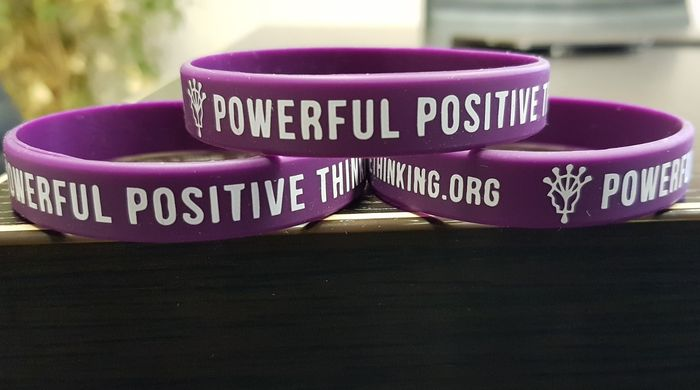 Free Positive Thinking Help & Free Wristband