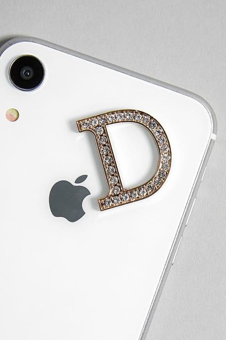 Cheap Diamante Letter Tech Sticker Charm Only £3