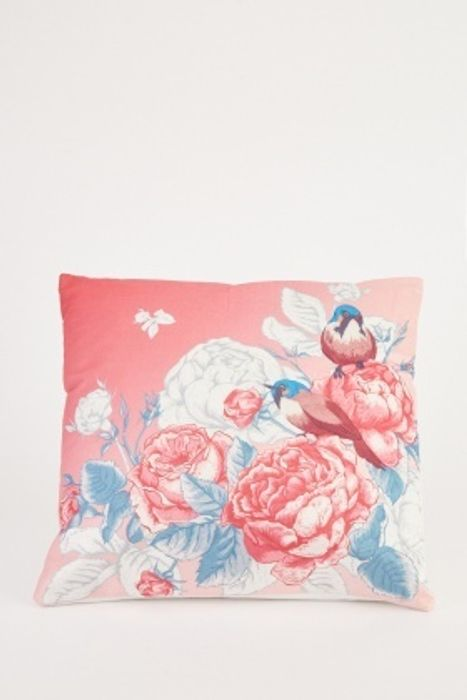 Floral Bird Printed Cheap Cushion