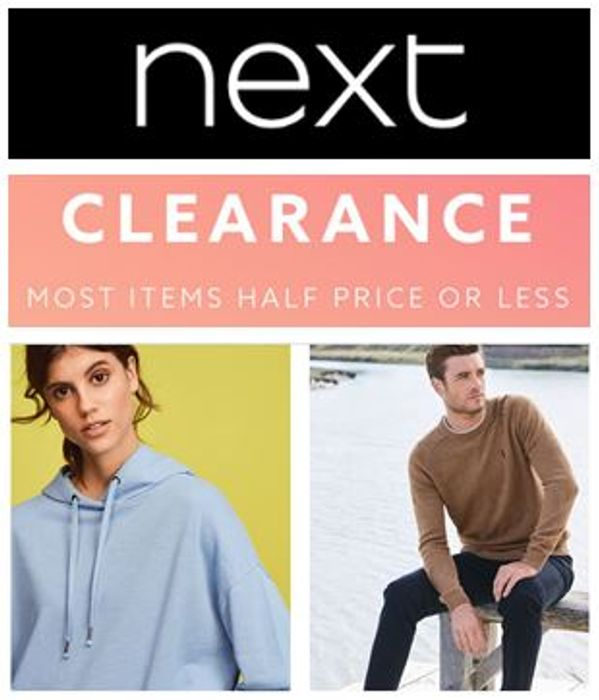 NEXT CLEARANCE - Half Price or Less!