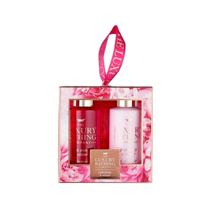 Grace Cole Graceful Pink Peony & Vetiver Bath Care 3 Pieces Gift Set