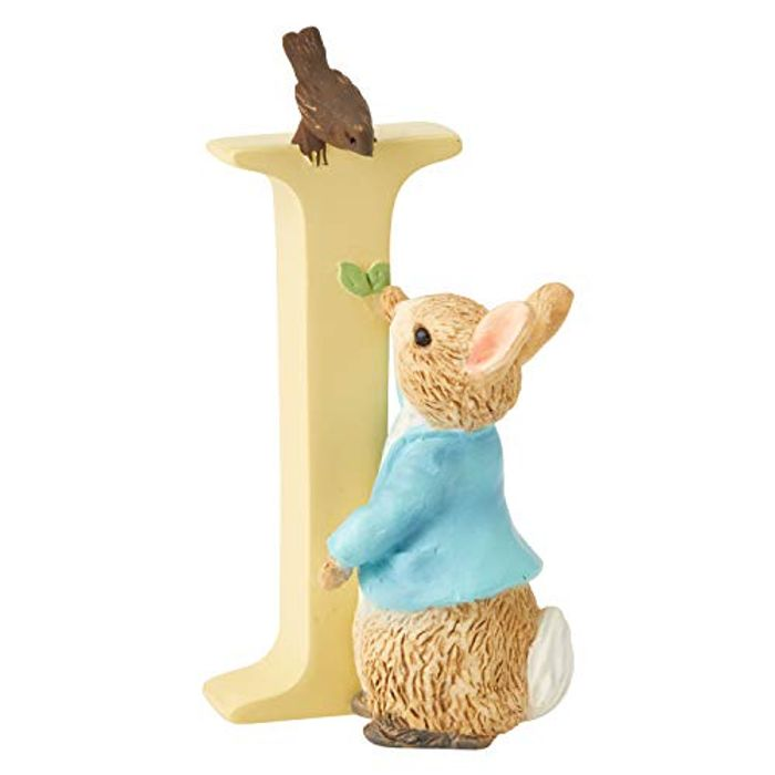 Beatrix Potter Alphabet Letter I Peter Rabbit Figurine