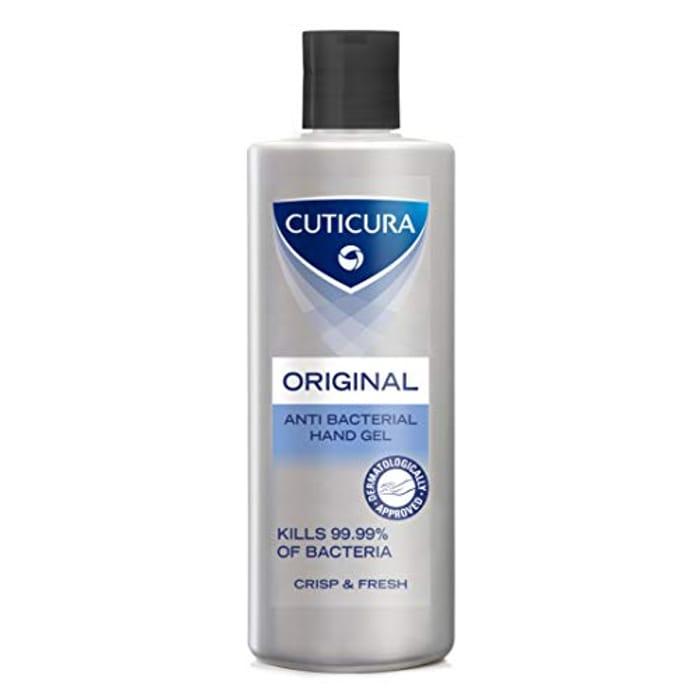 Cuticura Original Anti-Bacterial Hand Gel 200 Ml, Set of 6