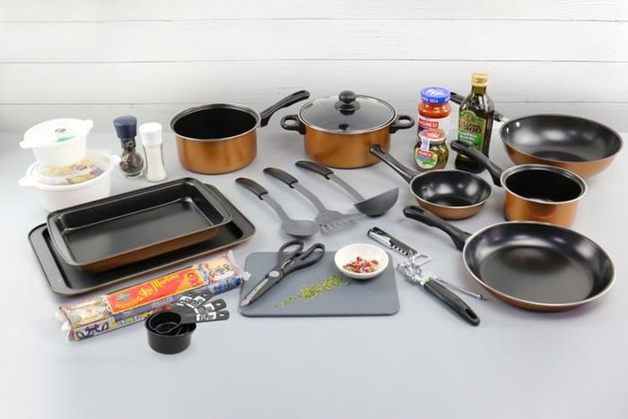 *SAVE £20* 21 Piece Kitchen Starter Pack - 2 Colours!