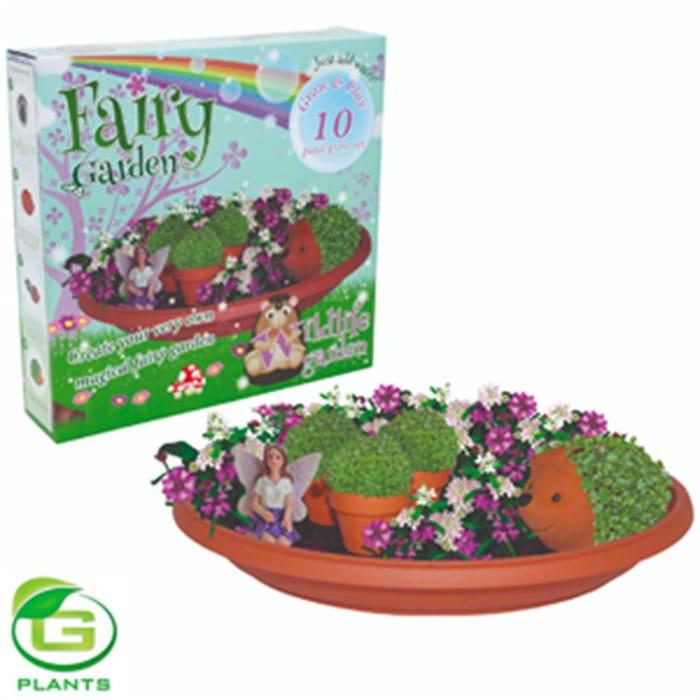 Fairy Garden 10-Piece Grow Set