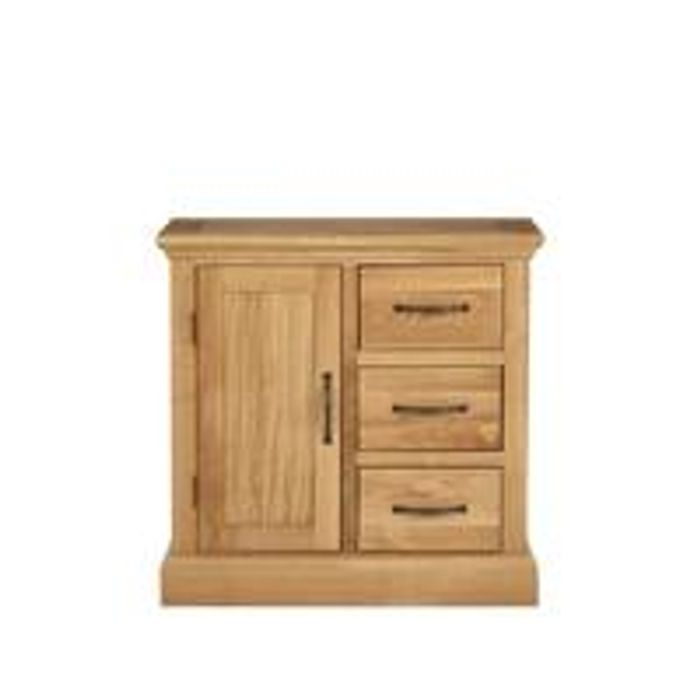 Solid Wood Compact Sideboard